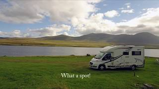 Altnaharra Caravan & Motorhome Club Site Sept 2016