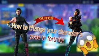 How to take another skin's pose in Fortnite. glitch