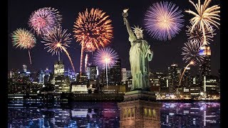 New Year 2018 New York Fireworks Eve | New Year 2018 America Fireworks Eve