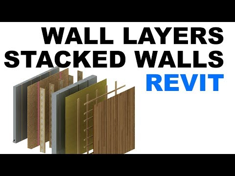 Revit Tutorial: Wall layers and stacked walls