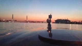 Экскурсия по вечернему Санкт-Петербургу на венецианском катере(Аренда этого катера +78129846000., 2016-05-11T00:17:31.000Z)