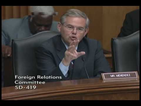 Senator Menendez Questions Ambassador Nominees in the Senate Committee on Foreign Relations