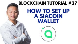 Blockchain Tutorial #27 - How To Setup A Siacoin Wallet