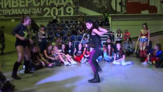 Ghetto Blaster 2013 | dancehall battle | Anastacia IceCreamCrew vs Polina Thumbnail
