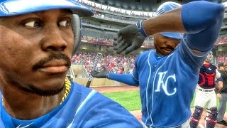 QJB CUSTOM DAB FLIP ANIMATION IN MLB DEBUT! MLB The Show 17 Road to the Show Gameplay Ep. 14