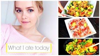What I Ate Today | Healthy Meals | Ella Victoria