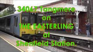 34067 Tangmere at Shenfield