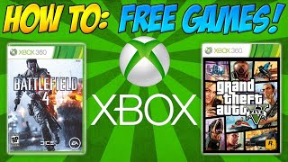 How To Get Free Games On Xbox 360