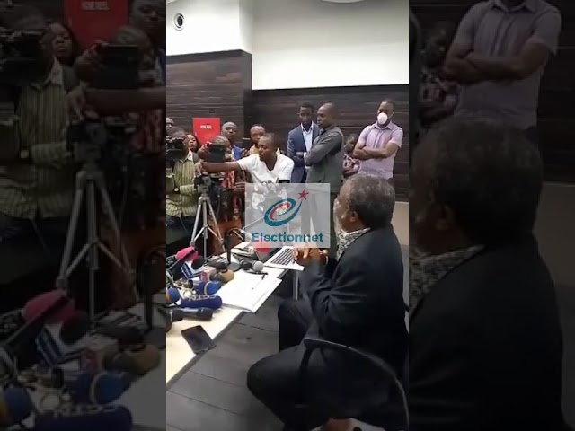 Conférence de presse du Dr Muyembe sur l'évolution de la Covid19 en RDC