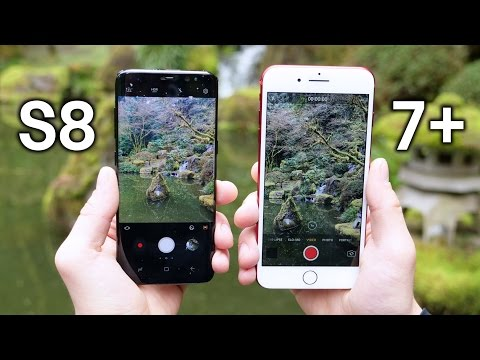 Thumbnail: Samsung Galaxy S8 vs iPhone 7 Plus Camera Test Comparison