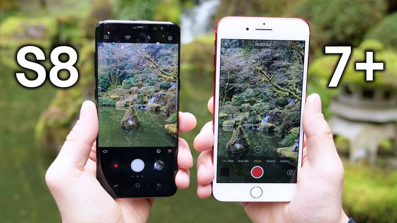 Interactive Wallpaper Iphone X Samsung Galaxy S8 Vs Iphone 7 Plus Camera Test Comparison