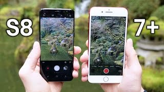 Samsung Galaxy S8 vs iPhone 7 Plus Camera Test Comparison
