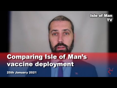 Comparing Isle of Man's vaccine deployment