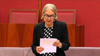 Senator Rhiannon speaks about the Tamil political prisoners on hunger strike and the PTA