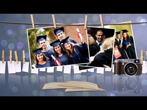Graduation Slideshow Templates - Brilliant Blend of Photos, Videos, and 3D Animation Effects