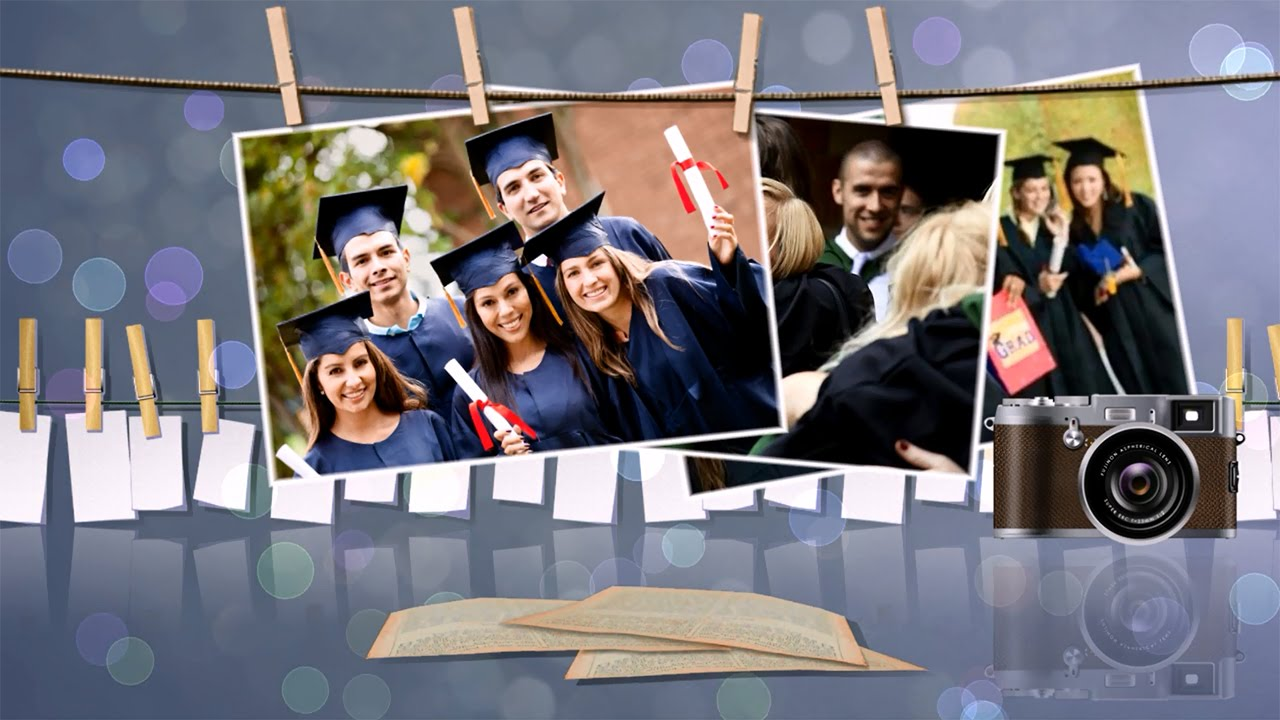 Graduation Slideshow Templates Brilliant Blend Of Photos Videos