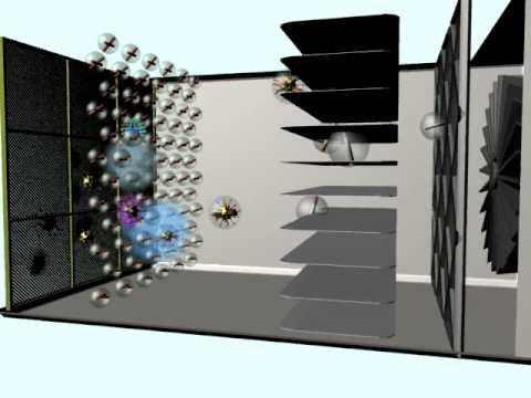 Electrostatic Precipitator System Working Avi Youtube