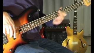 ABBA - Knowing Me, Knowing You - Bass Cover