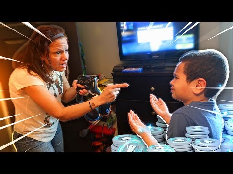 Mom Tells 9 Year Old Kid He Cant Play Fortnite Ever Again...(prank!) *HE RAGED!* | MindOfRez
