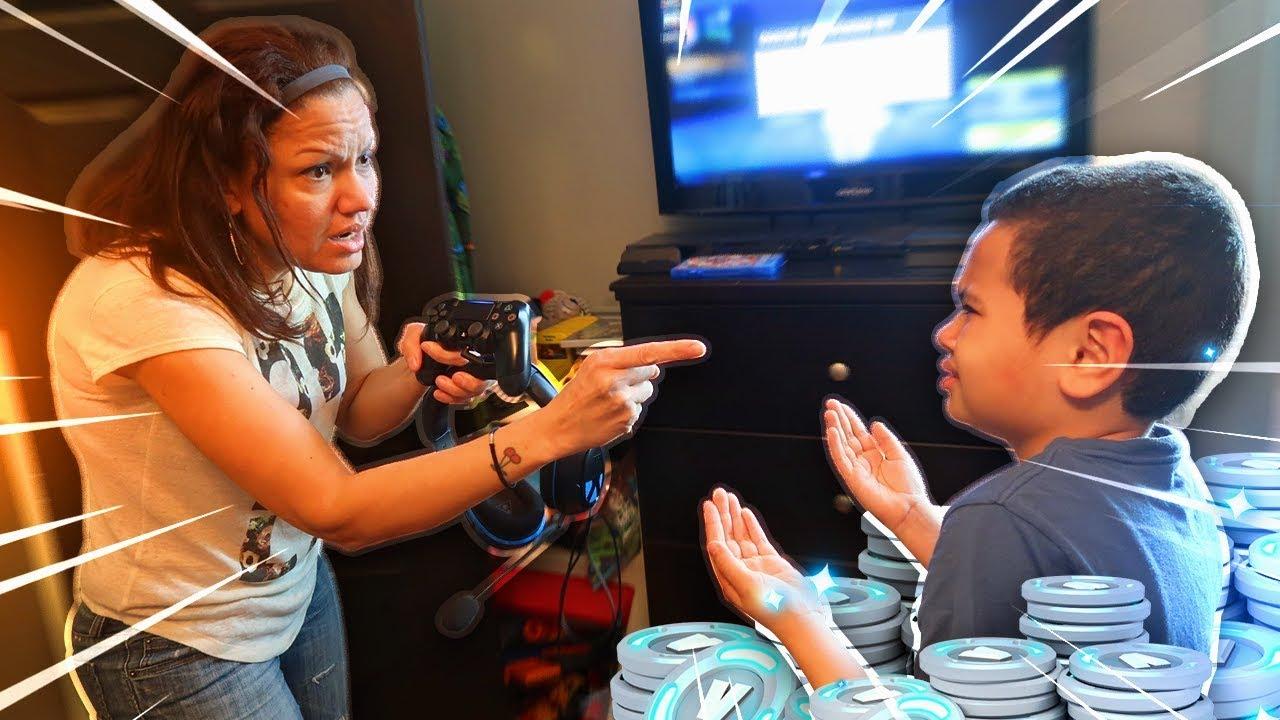 854b7625dbc9a Mom tells 9 year old kid he cant play fortnite ever again...(prank!) *HE  RAGED!* | MindOfRez