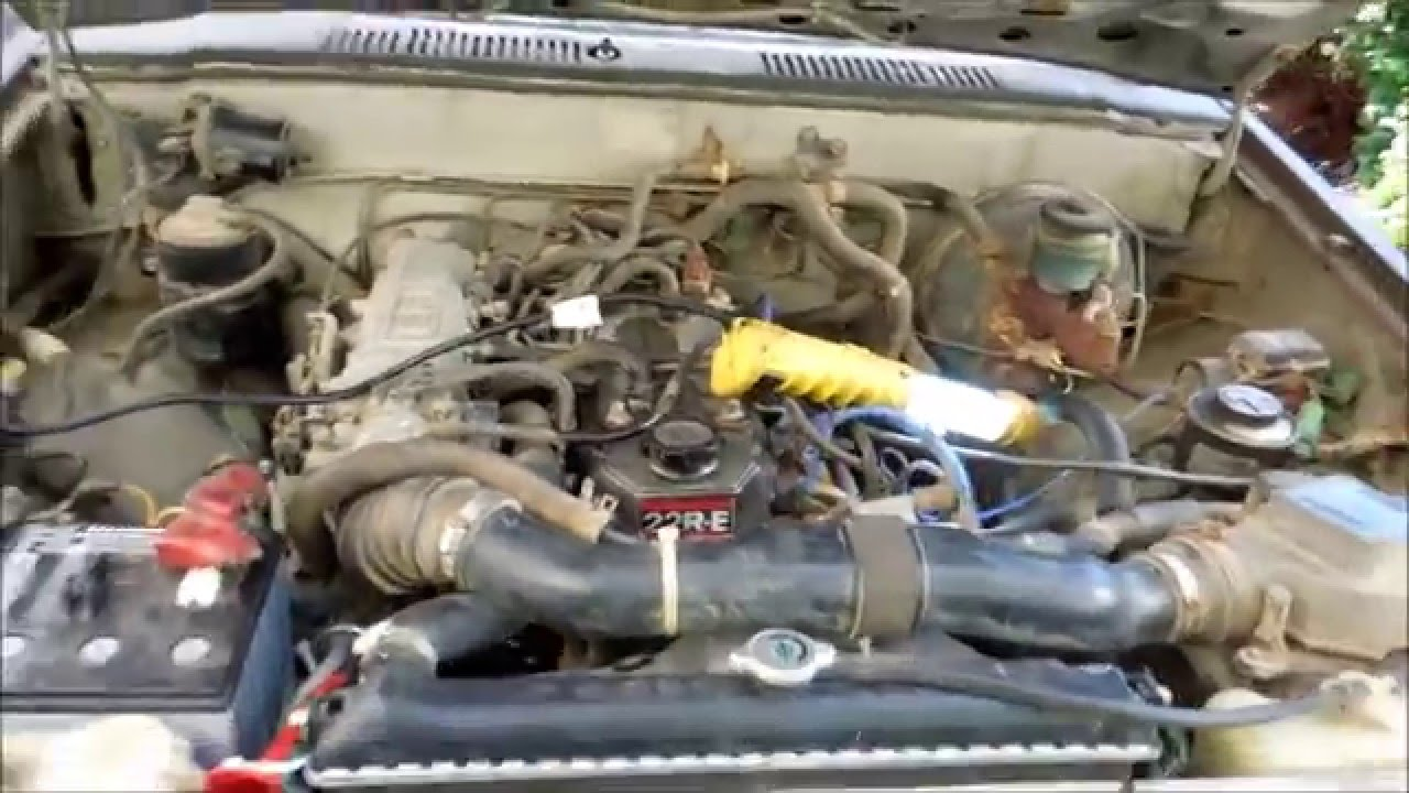 1987 toyota hilux alternator