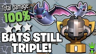 "BAT SPELLS STILL TRIPLE IN CWL! - Live CWL Hits! - ""Clash of Clans"""