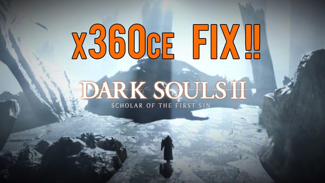 Dark Souls 3 & DS 2 Scholar Of The First Sin FIX X360ce