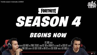 REACTION TO THE SECRET TRAILER OF FORTNITE SEASON 4!