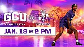 GCU Women's Basketball vs Kansas City January 18, 2020