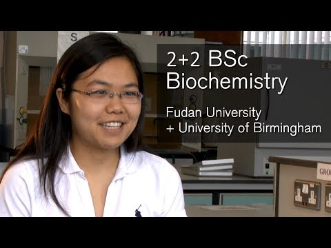 BSc Biochemistry - 2+2 programme - Fudan University and University of Birmingham