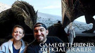 Game of Thrones Season 8 Official Trailer REACTION!!!!