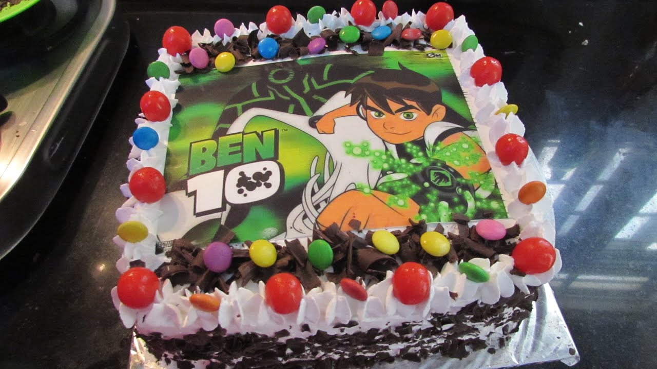 Birthday Cake Ben 10 Cake Design And Cake Decoration For