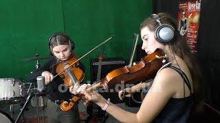Аліка Суханова і Вероніка Дуняк: талановиті скрипальки та просто красуні