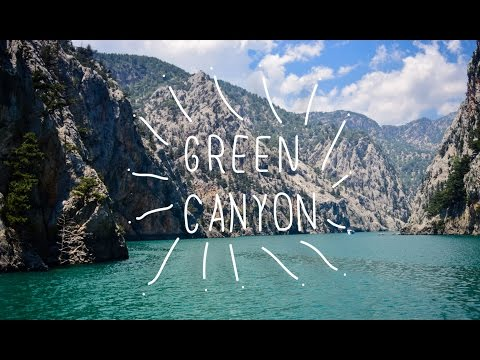 Green Canyon, Antalya, Turkey | boat trip