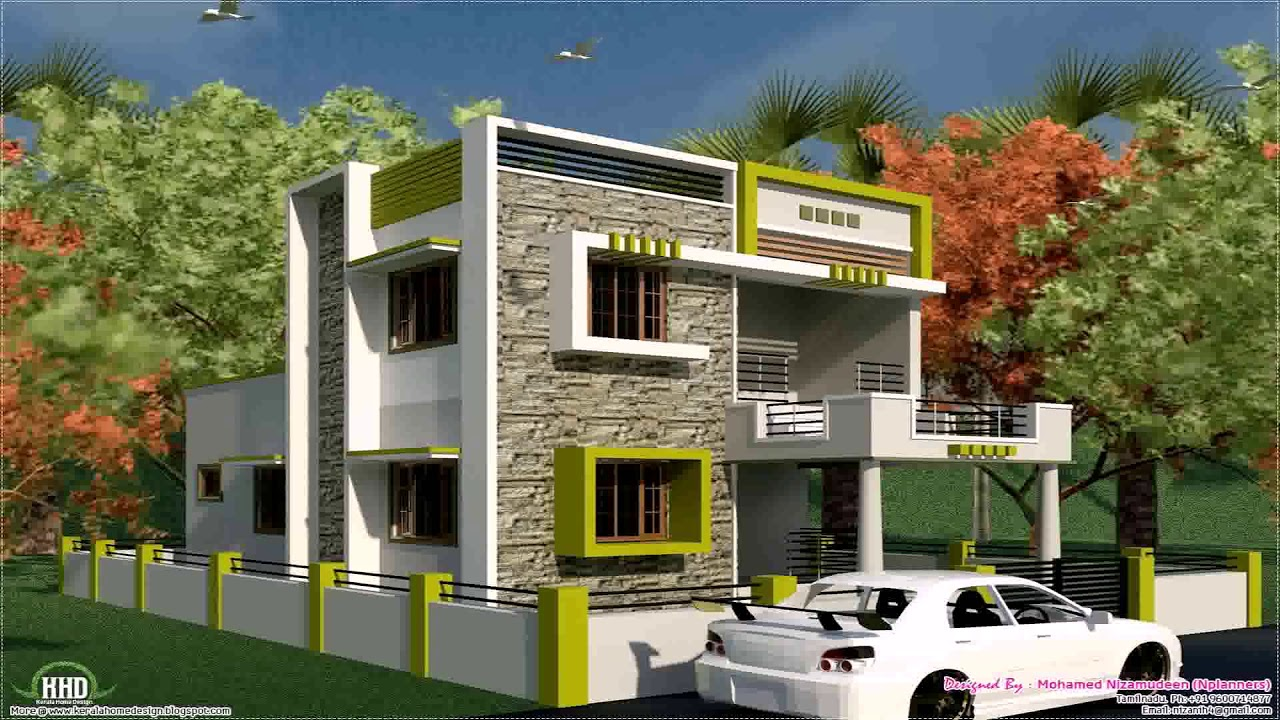 High Quality Indian House Front Side Design