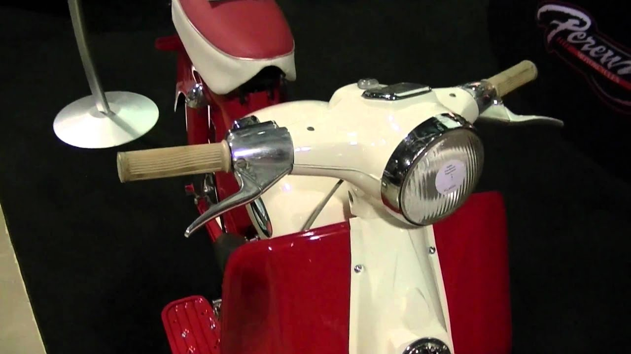 Sears Allstate Compact Scooter Made By Puch Youtube
