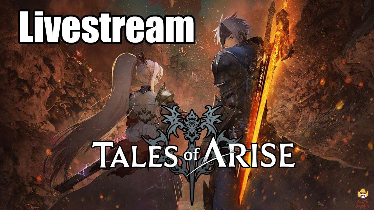 Tales of Arise - Training Ground Livestream