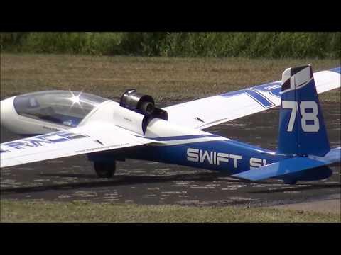 Swift S1 Voll Carbon Mit Impeller +Jet - Adaptive Dynamic Thrust Airshow In Nordheim Rhön