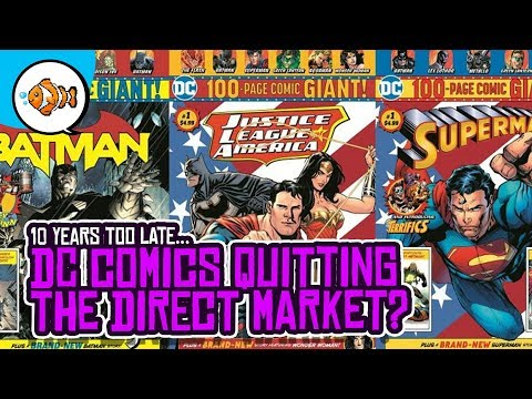 DC Comics QUITTING the Direct Market... Slowly.