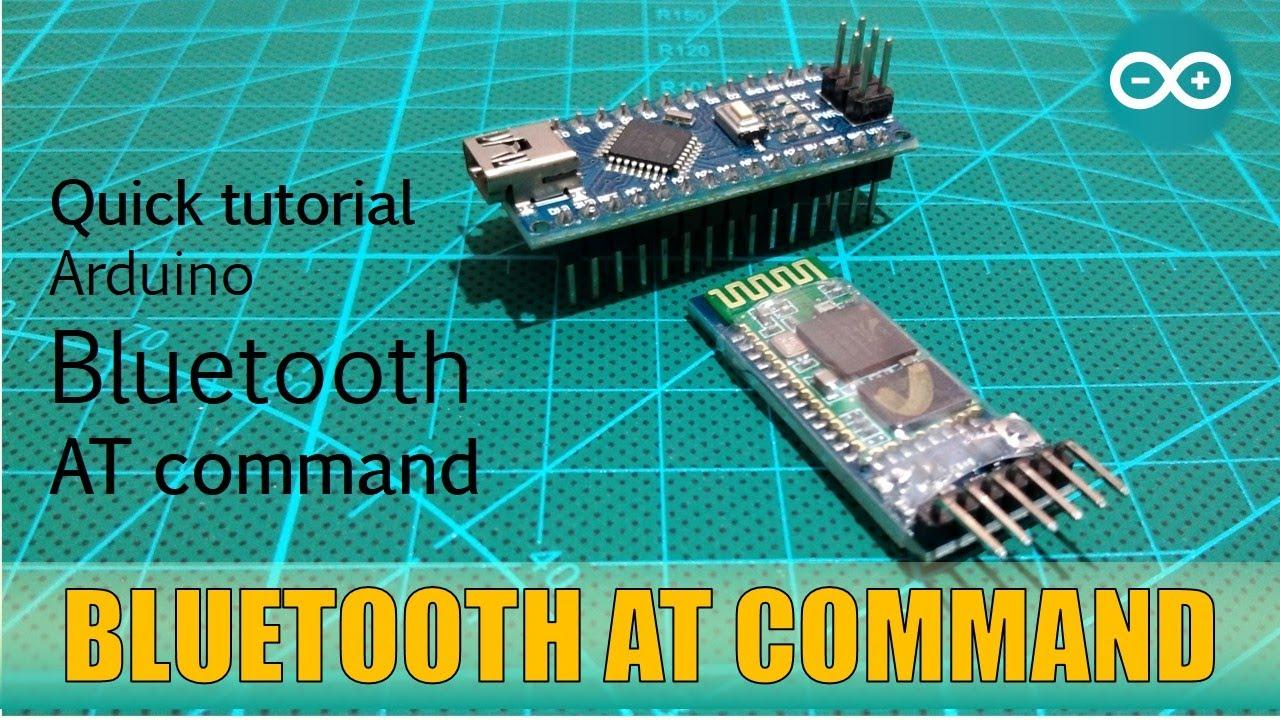 Arduino Bluetooth AT commands HC 05 HC 06