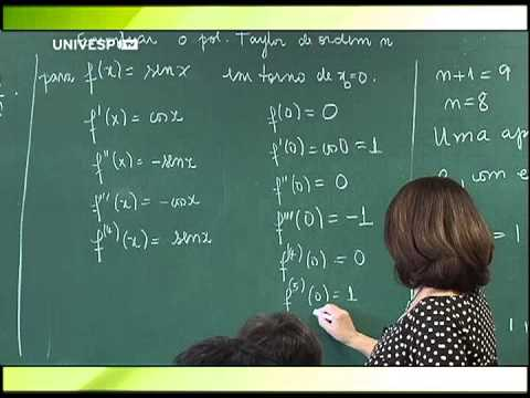 Cálculo II - Aula 2 - parte 3 - Fórmula de Taylor com resto de Lagrange de funções de uma v