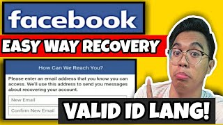 Paano i-RECOVER ang NA-HACK na FB Account (How to recover FB Account without Email and Phone Number)