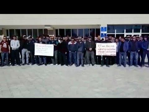 Митинг возле акимата. 16.10.2019. Жанаозен / БАСЕ