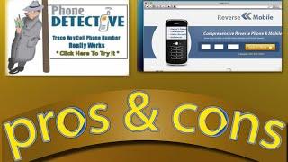 Reverse Phone Detective Review - Phone Detective App Pros & Cons