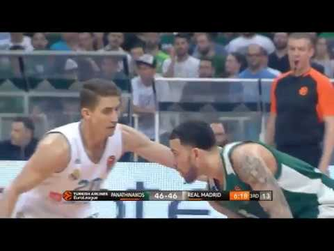 Panathinaikos-Real Madrid (82-89): Mike James 20 pts  | Eurohoops