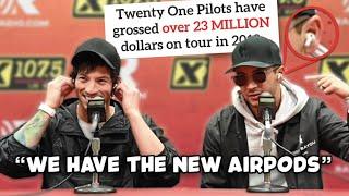 Tyler & Josh bragging about being millionaires (Twenty One Pilots)