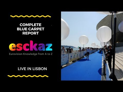 ESCKAZ in Lisbon: Complete Red Carpet Report with all countries