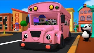 колеса на автобусе детские рифмы детская поэма Kids Song  Bus Song For Kids Wheels On The Bus Songs