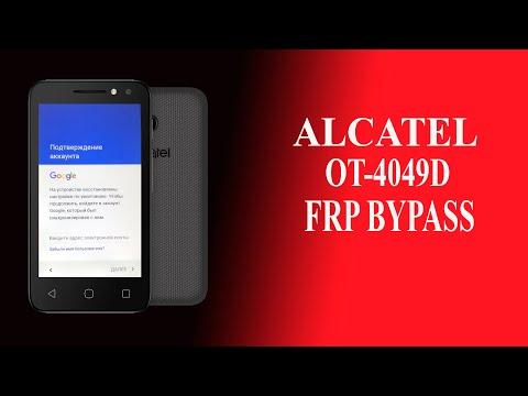 Alcatel 4049D обход блокировки FRP