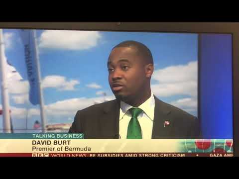 Premier of Bermuda live on BBC World News 2017